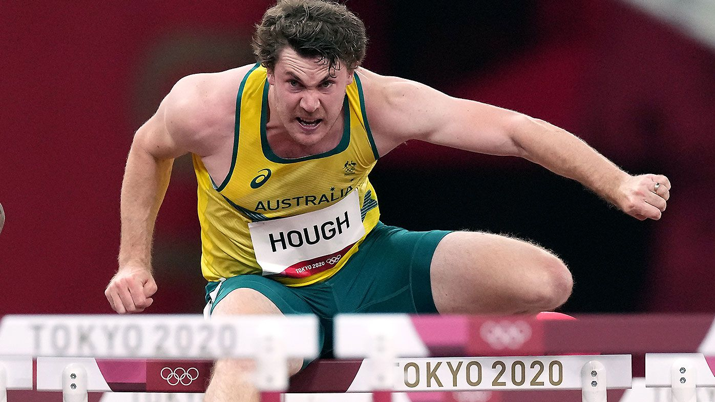 Aussie hits every hurdle in brutal Olympic semi