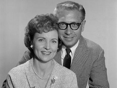 Betty White and Allen Ludden in 1962.