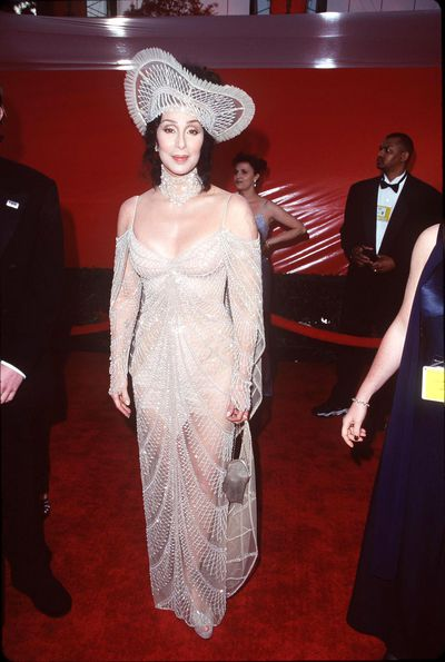 Cher at the 70th Annual Academy Awards in Los Angeles, March, 1998