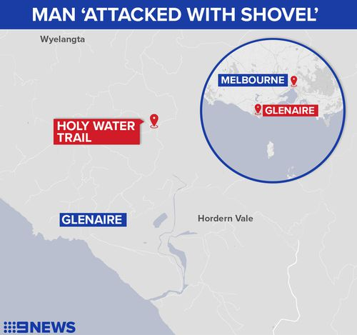 The alleged assault unfolded in Glenaire, about 225km from Melbourne's CBD. (9NEWS)