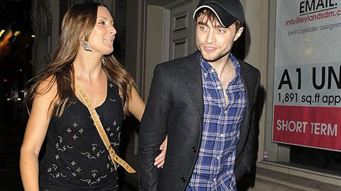 Has Daniel Radcliffe ditched his girlfriend for this mystery brunette?
