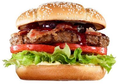 Kristmush berry burger