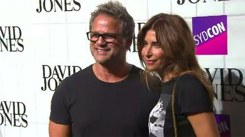 Stevens and former fiancee Jodhi Meares. (9NEWS)