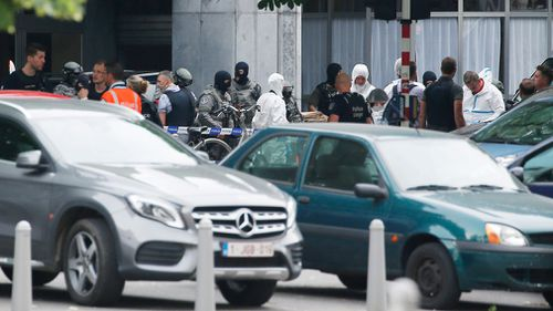 Authorities are treating the attack as terror-related. Picture: AP