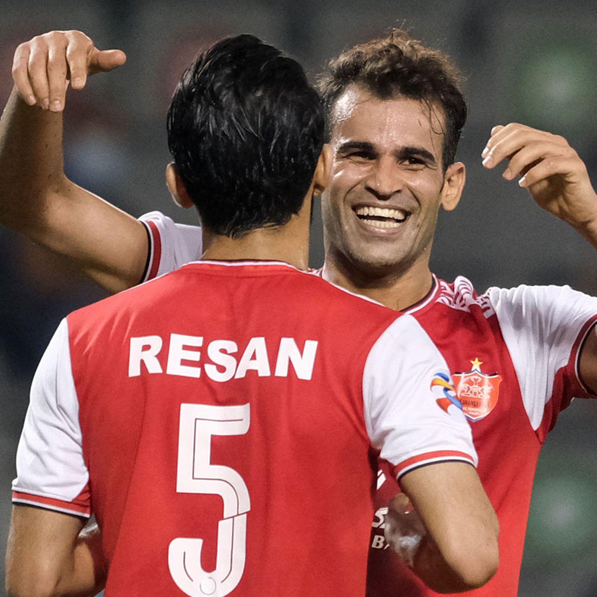 Iranian Footballer Issa Alekasir Banned For Goal Celebration