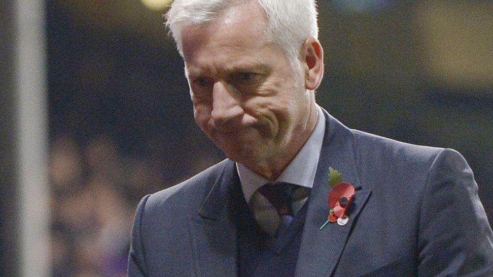 Sacked Crystal Palace manager Alan Pardew. (AFP)