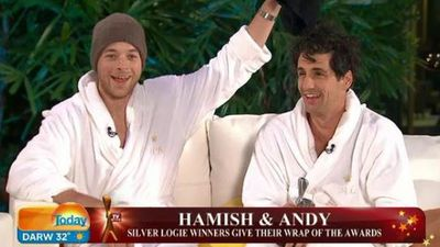 Hamish and Andy on the TODAY show.
