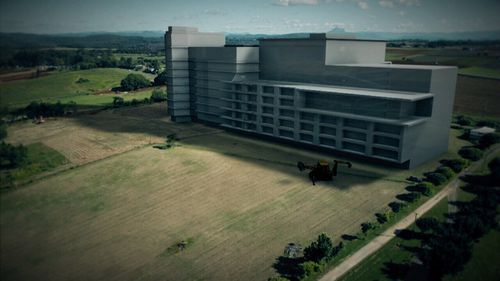 The hospital development could cost $534 million.