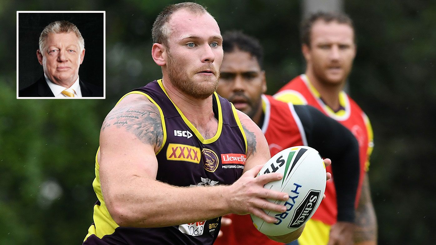 Brisbane Broncos bad boy Matt Lodge could be a very good story for the NRL, says Phil Gould