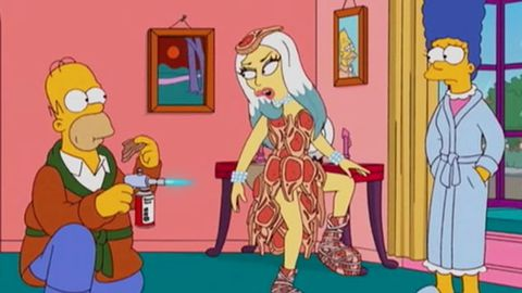 Sneak peek: Lady Gaga is 'a bit of s---' on <i>The Simpsons</i>