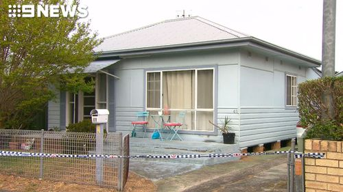 The house where the attempted murder allegedly took place. (9NEWS)