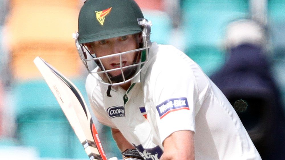 George Bailey hit an unbeaten 200 for Tasmania. (AAP)