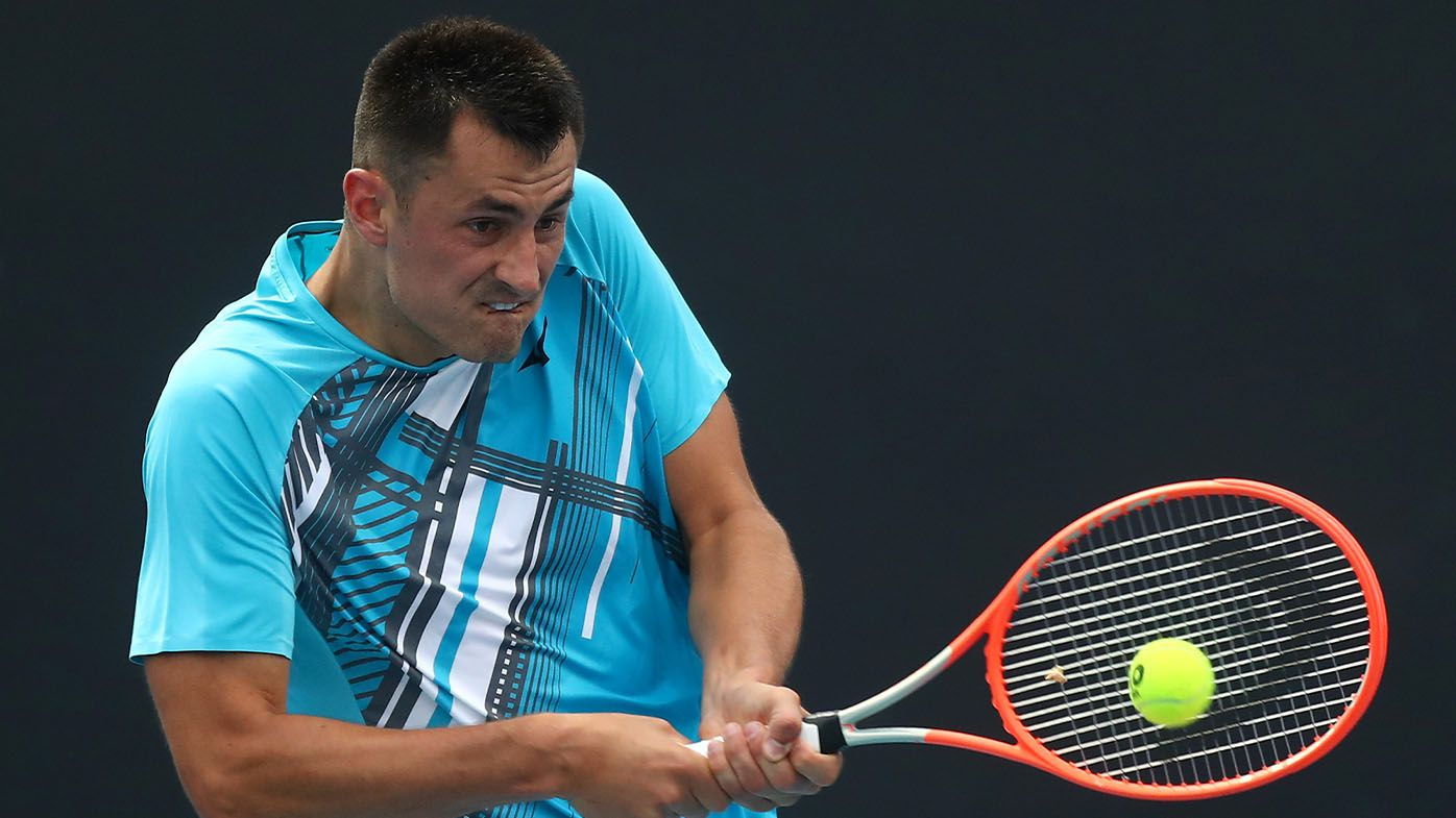 Bernard Tomic advances to second round of Australian Open for the first time since 2017