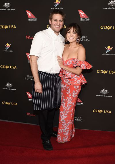 Celebrity chef Curtis Stone and wife, actress Lindsay Price