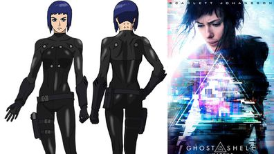 Scarlett Johansson S Ghost In The Shell Director Defends Casting Her As A Japanese Heroine 9celebrity