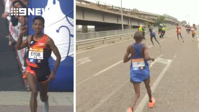Marathon farce as leading runners take the wrong turn