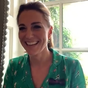 Kate's brilliant on-theme outfit for video call with tennis fans