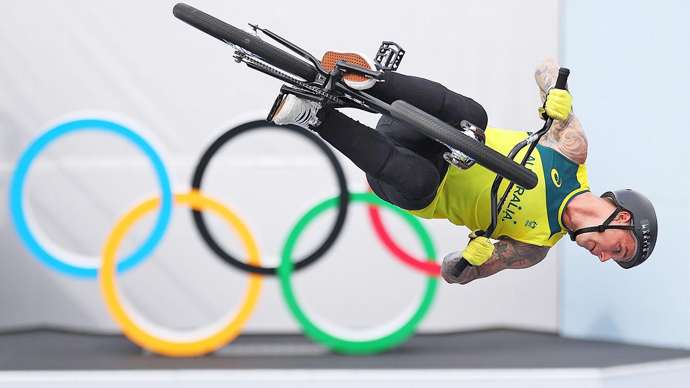 Logan Martin at the Tokyo Olympics