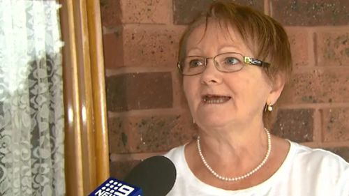 Local woman Barbara assisted the woman who escaped the blaze. (9NEWS)