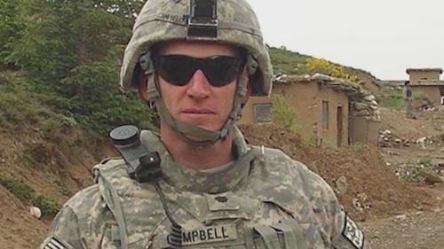 US Commander Colonel Robert Campbell