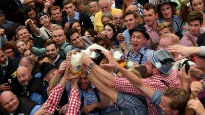 The beer is once again flowing at Oktoberfest