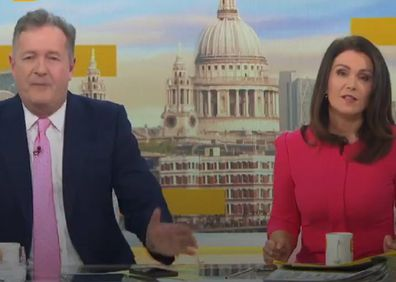 Piers Morgan has commented on the couple's upcoming Oprah interview on Good Morning Britain.