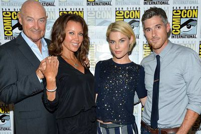 The super-hot cast of TV's upcoming <i>666 Park Avenue</i>, including Terry O'Quinn, Vanessa Williams, Dave Annable and Aussie starlet, Rachael Taylor.