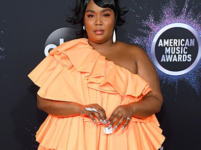 Lizzo at the 2019 AMAs