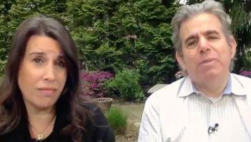 New York lawyer Lawrence Garbuz with wife Adina Lewis Garbuz