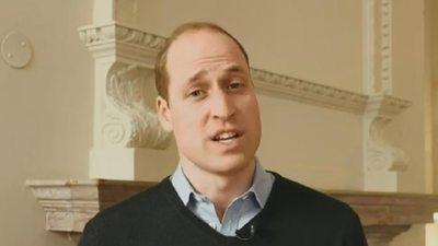 Prince William sends a message of support during Fire Fight concert