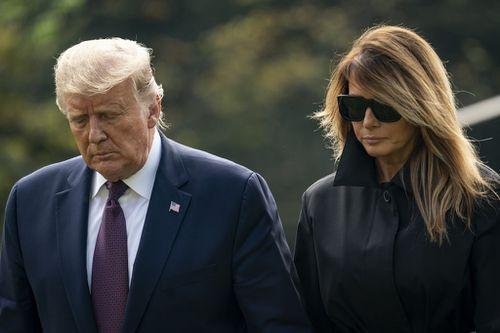Donald and Melania Trump White House