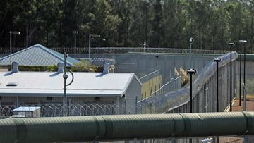 The perimeter fence at Silverwater jail in Sydney's west, Monday, April 1, 2013.