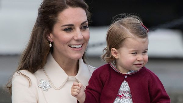Princess Charlotte has inspired a whole swag of Aussie mamas. Image: Getty.
