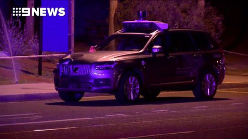 Victim was hit while crossing a road in the Phoenix suburb of Tempe on Sunday local time (9NEWS)