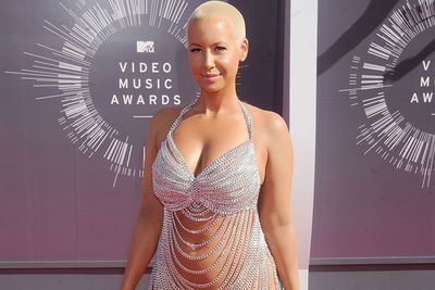 Yep, Amber Rose gave Insta-followers an early Christmas treat with this scantily-clad snap... and we're not surprised at all. <br><br>Wonder what ex Wiz Khalifa thinks?!