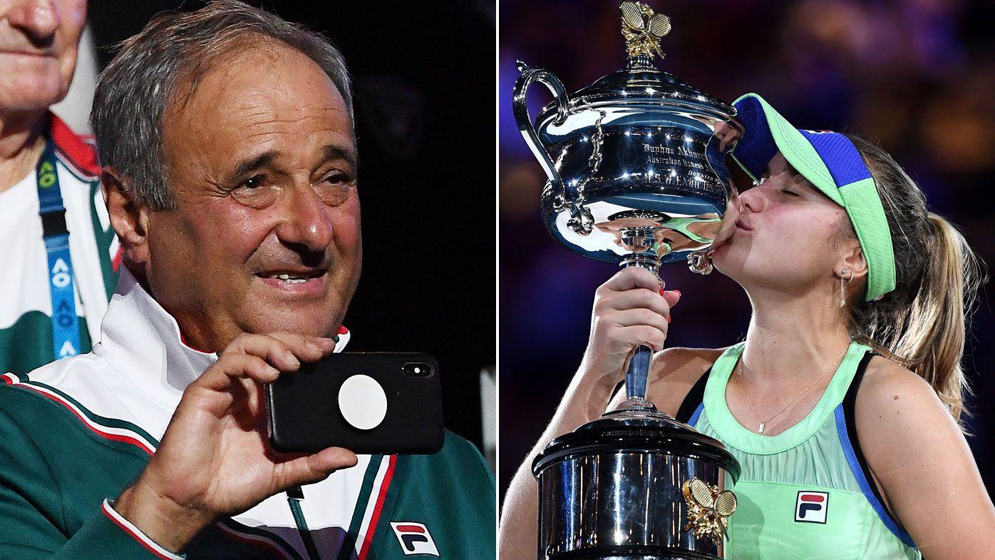 Alexander Kenin's 'adorable' act after daughter Sofia wins Australian Open