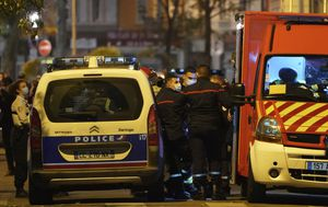 France news: Orthodox priest shot at church in Lyon; attacker at large