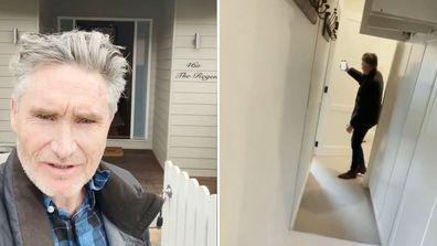 Dave Hughes gives a tour through his Block home