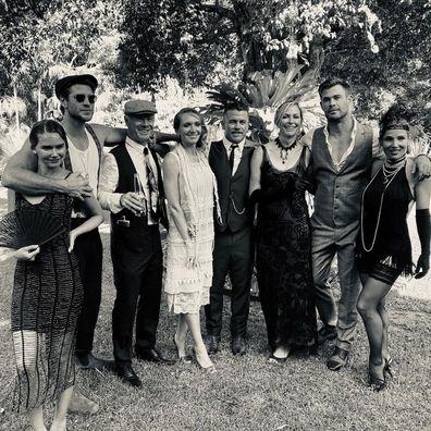Gabriella Brooks recently celebrated Luke Hemsworth's 40th birthday.