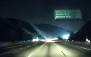 Dashcam footage shows moment Getty wildfire sparked up, as experts warn worse is yet to come