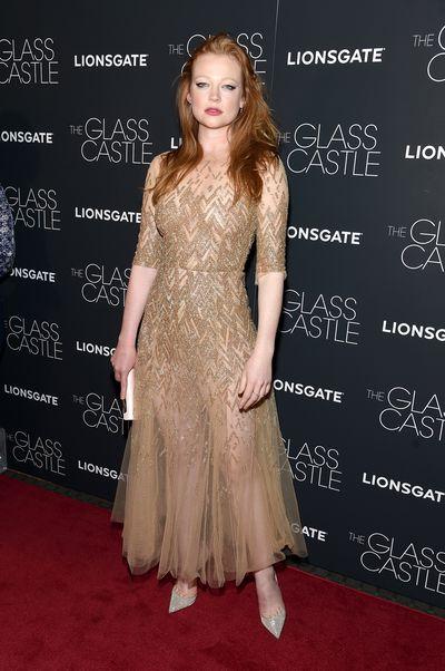 Sarah Snookat the premier of<em>The Glass Castle</em>.