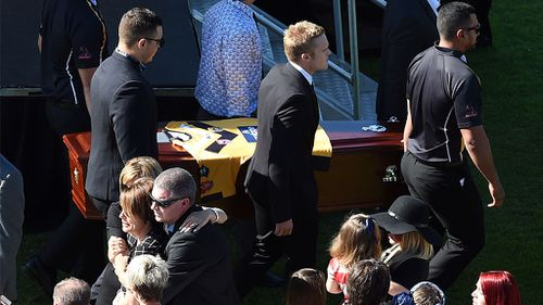 Wayne Bennett among tributes at funeral of Queensland footballer James Ackerman