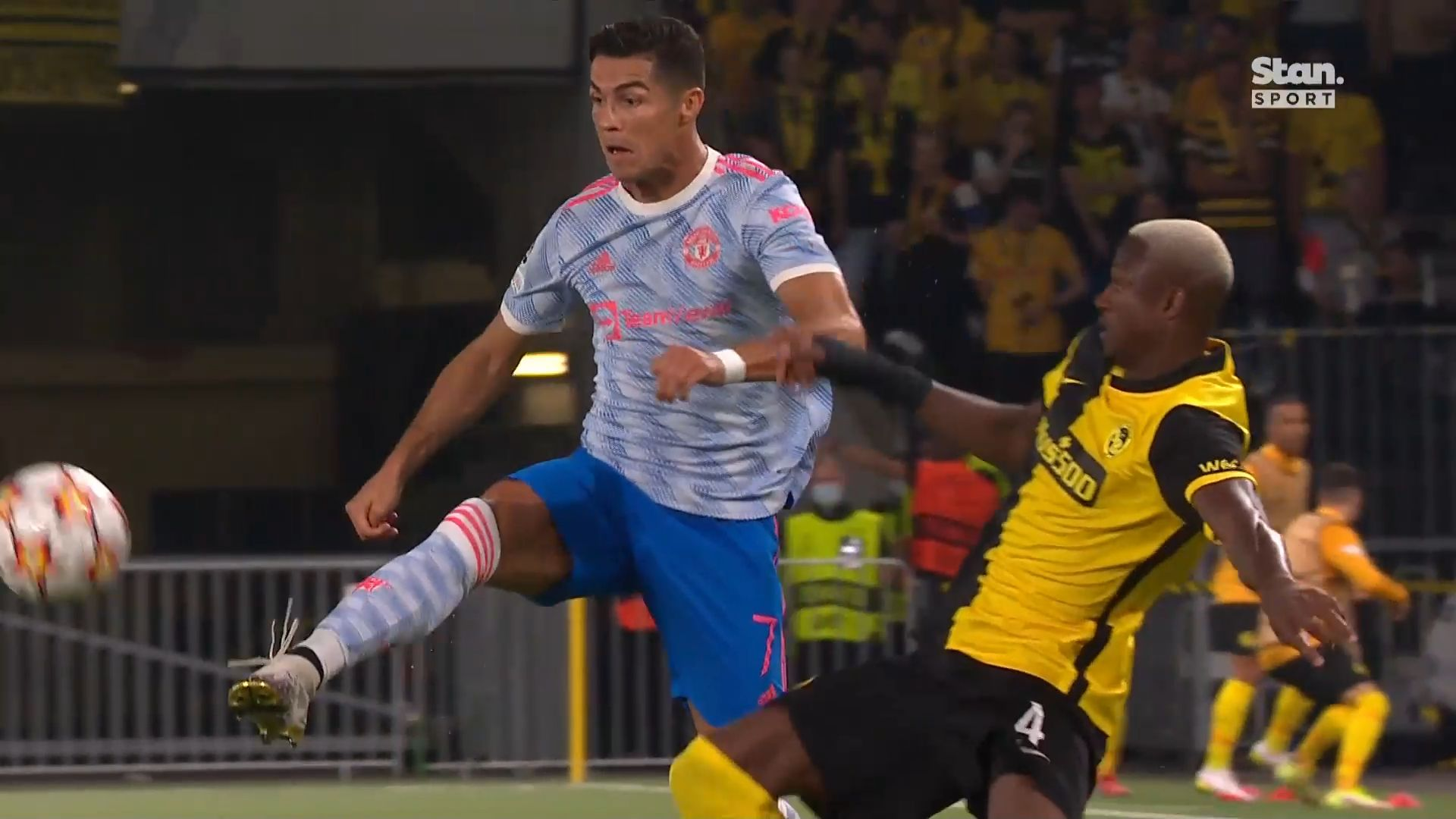Ronaldo scores but Man United beaten 2-1 at Young Boys after teammate's clanger
