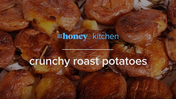 How to make a whole tray of crunchy roast potatoes