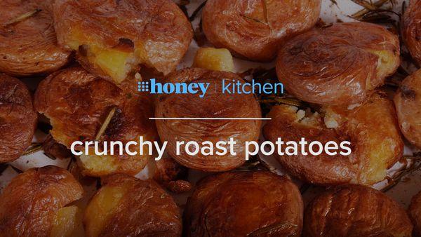 How to make a whole tray of crunchy roast potatoes
