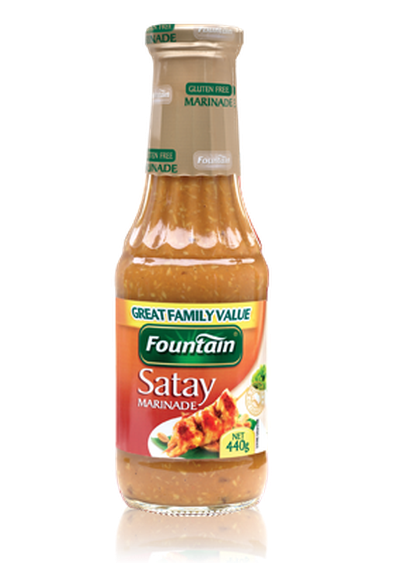 <strong>Fountain Satay Sauce (22.3 grams of sugar per 100ml)</strong>