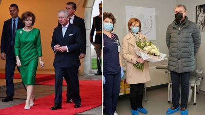 Romania's queen receives COVID-19 vaccination