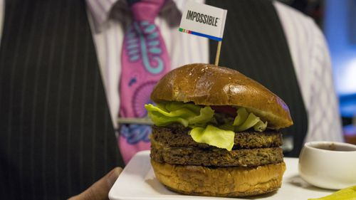 Air New Zealand has served up its plant-based 'Impossible Burger'