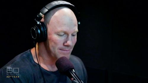 Hall lost his job at Triple M after making an offensive comment about Leigh Montagna's pregnant wife. Picture: 60 Minutes