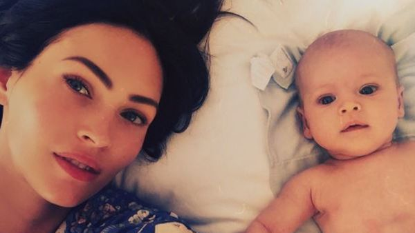 Mama Megan Fox with Journey, 11 months. Image: Instagram/@the_native_tiger